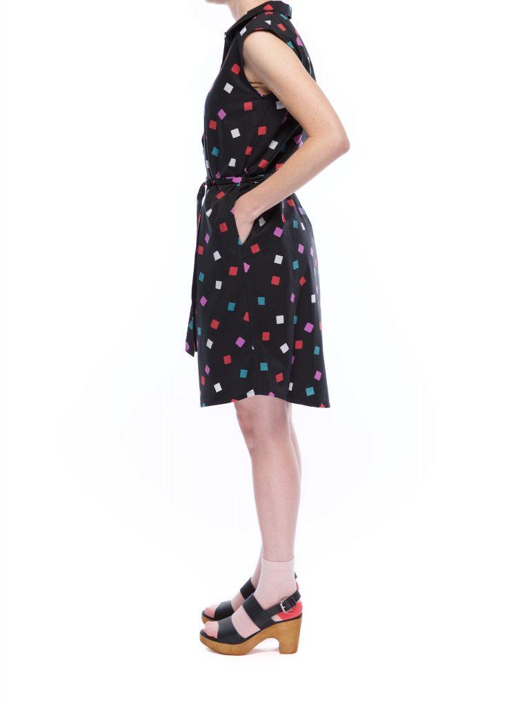 button_shirt_dress_diamonds_side