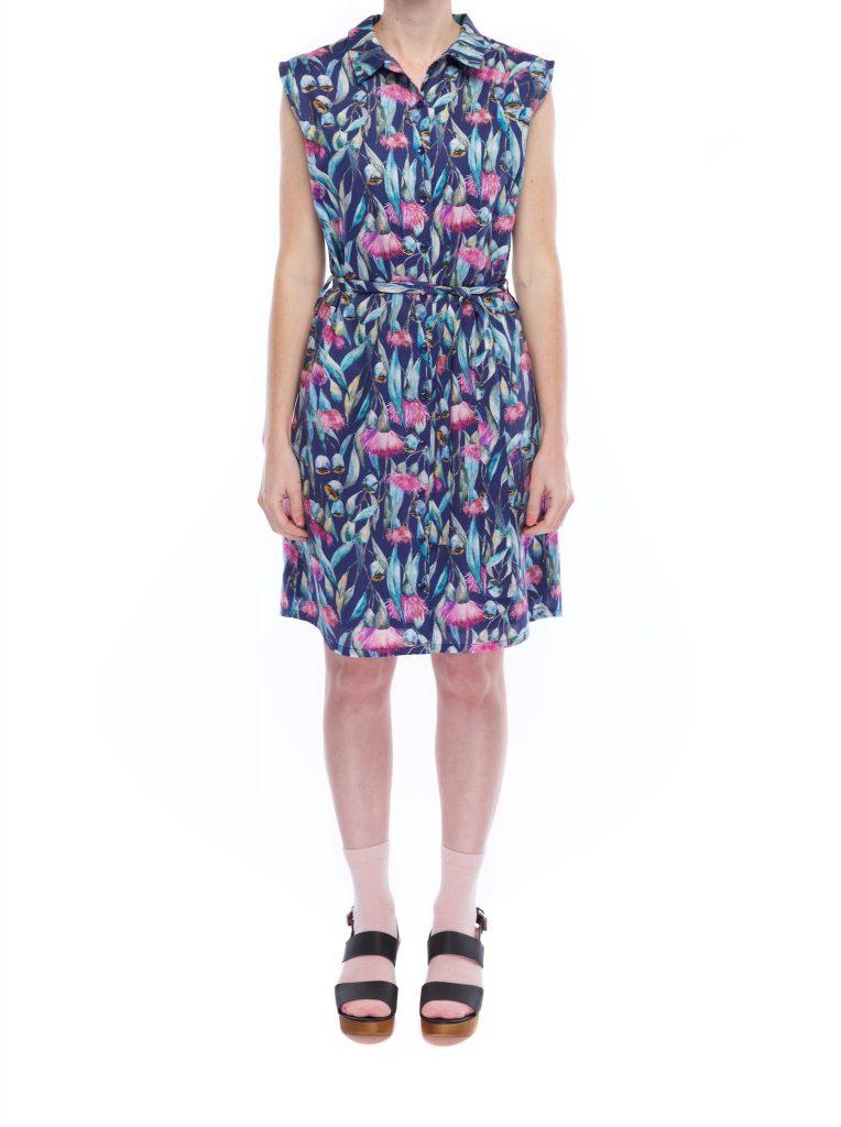 button_shirt_dress_gum_flowers_front