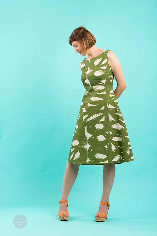 essaye-wilma-dress-sedar-pesto
