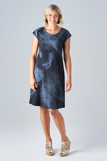 essaye-feather-bobby-dress-black